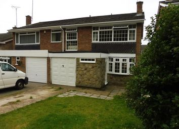 Thumbnail 4 bed semi-detached house to rent in Shalford Road, Billericay