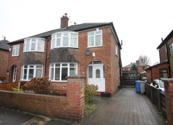 Thumbnail 3 bed semi-detached house to rent in Millford Avenue, Flixton, Urmston, Manchester