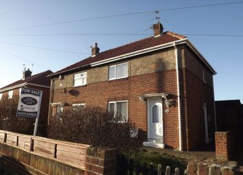 Thumbnail 2 bed semi-detached house for sale in Rydal Mount, Newbiggin-By-The-Sea