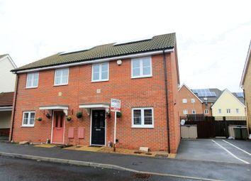 Thumbnail 3 bed semi-detached house for sale in Brick Kiln Road, Noak Hill, Romford