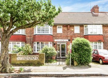 Thumbnail 4 bed terraced house for sale in Oakleigh Avenue, Burnt Oak, Edgware