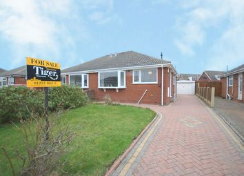 Thumbnail 2 bedroom semi-detached bungalow for sale in Ribblesdale Close, Blackpool, Lancashire