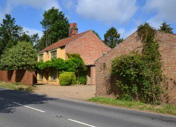 Thumbnail 4 bed detached house for sale in Norwich Road, Yaxham, Dereham, Norfolk.