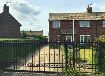 Thumbnail 3 bed semi-detached house for sale in Dene Close, Hensall, Goole