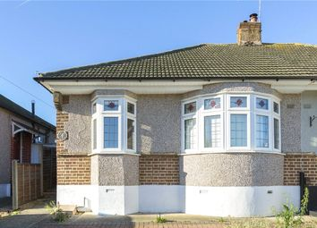 Thumbnail 2 bedroom semi-detached bungalow for sale in Lingfield Avenue, Upminster, Essex