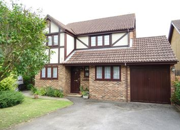 Thumbnail 5 bed detached house for sale in The Paddocks, New Haw