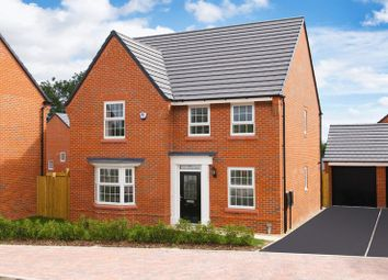 Thumbnail 4 bed detached house for sale in The Holden At Meadow View, Crewe