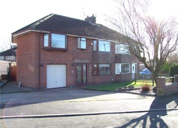 Thumbnail 4 bed semi-detached house for sale in Wood Road, Spondon, Derby