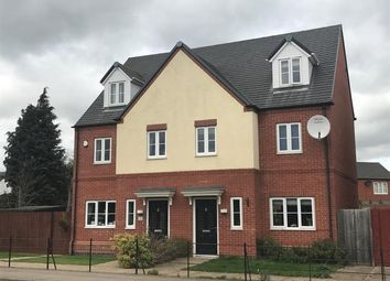 Thumbnail 3 bed semi-detached house to rent in Lockley Gardens, Sapcote, Leicester