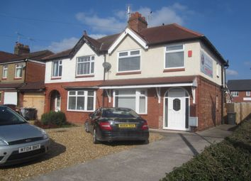 Thumbnail 3 bed semi-detached house for sale in Newcastle Road, Shavington, Crewe