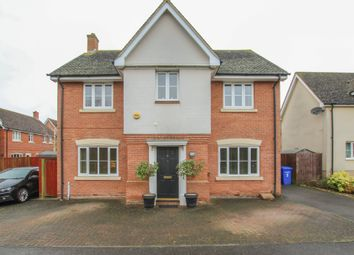 Thumbnail 4 bed detached house for sale in Alderton Close, Haverhill