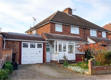 Thumbnail 3 bed semi-detached house for sale in Ver Road, Redbourn
