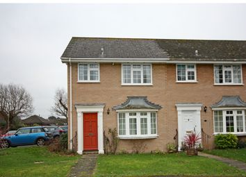 Thumbnail 3 bed end terrace house for sale in Grafton Gardens, Pennington, Lymington, Hampshire