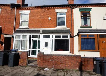 Thumbnail 2 bedroom terraced house for sale in Milner Road, Birmingham