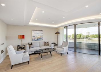Thumbnail 2 bedroom flat to rent in Tower One, The Corniche, 23 Albert Embankment, London