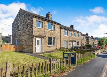Thumbnail 3 bed end terrace house for sale in Daisy Hill, Silsden, Keighley, West Yorkshire