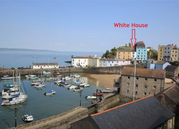 Thumbnail 6 bed terraced house for sale in White House & Apartment, Castle Square, Tenby, Pembrokeshire