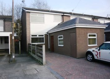 Thumbnail 3 bed terraced house to rent in Abingdon Road, Stockport, Cheshire