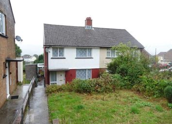 Thumbnail 3 bed semi-detached house for sale in Heol-Y-Mynydd, Aberdare