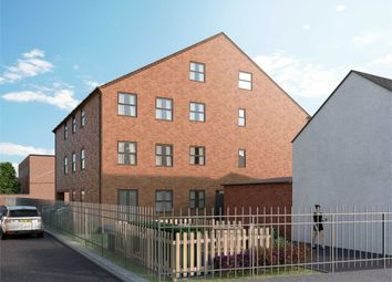 Thumbnail 2 bed flat for sale in Ash Street, Northampton