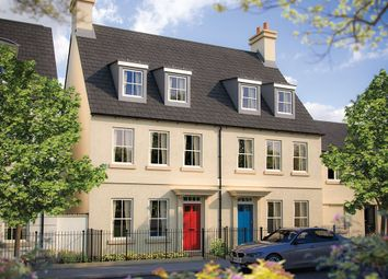 "Thumbnail 4 bedroom terraced house for sale in ""The Newton"" at Haye Road, Sherford, Plymouth"