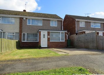 Thumbnail 3 bed semi-detached house for sale in Bignal Drive, Leicester Forest East, Leicester