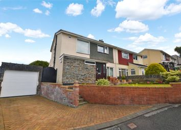 Thumbnail 3 bed semi-detached house for sale in Dunstone Lane, Plymstock, Plymouth, Devon