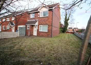 Thumbnail 3 bed detached house for sale in Finstock Close, Eccles, Manchester