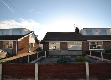 Thumbnail 2 bed semi-detached bungalow for sale in Cornwall Avenue, Tyldesley, Manchester