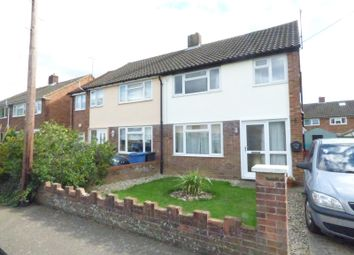 Thumbnail 3 bed semi-detached house to rent in St. Andrews Road, Great Cornard, Sudbury