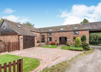 Thumbnail 3 bed detached house for sale in Chapel Chorlton, Newcastle