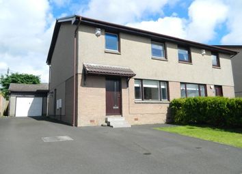 Thumbnail 3 bed semi-detached house for sale in Highburgh Avenue, Lanark