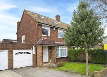 Thumbnail 4 bed semi-detached house for sale in Aragon Avenue, Thames Ditton, Surrey