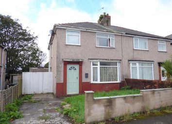 Thumbnail 3 bed semi-detached house for sale in Brentlea Crescent, Heysham, Morecambe