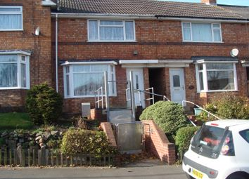 Thumbnail 3 bed terraced house to rent in Ashill Road, Rednal