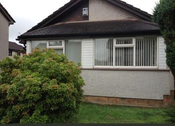 Thumbnail 3 bed bungalow to rent in Fauldspark Crescent, Baillieston, Glasgow