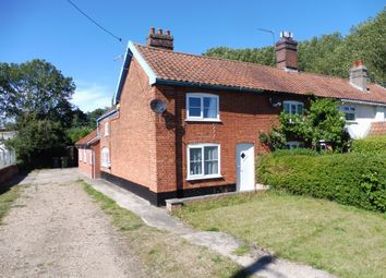 Thumbnail 2 bedroom end terrace house for sale in Redenhall Road, Redenhall, Harleston