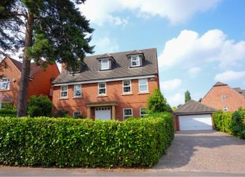 Thumbnail 5 bed detached house for sale in St. Georges Close, Allestree, Derby