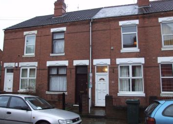 Thumbnail 2 bedroom terraced house to rent in Richmond Street, Stoke, Coventry