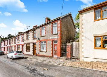 Thumbnail 3 bed end terrace house for sale in Pentre Beili Place, Lewistown, Bridgend