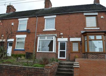 Thumbnail 3 bed terraced house to rent in Hazles Cross Road, Kingsley, Stoke-On-Trent