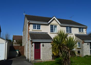 Thumbnail 3 bed semi-detached house to rent in Caer Worgan, Llantwit Major