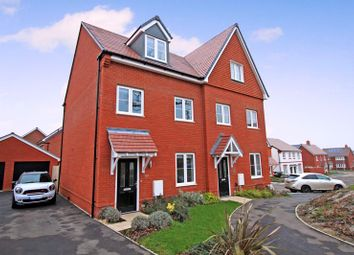 Thumbnail 3 bed semi-detached house for sale in Bushy Dene Road, Botley, Southampton