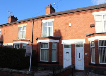 Thumbnail 3 bed terraced house to rent in Hungerford Road, Crewe, Cheshire