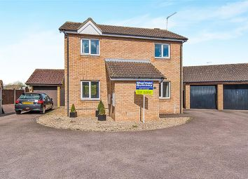 Thumbnail 3 bed detached house for sale in Roundhills Way, Sawtry, Huntingdon