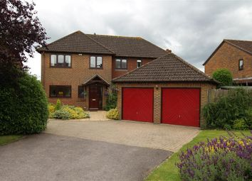 Thumbnail 5 bed detached house for sale in Southend Road, Bradfield Southend, Reading