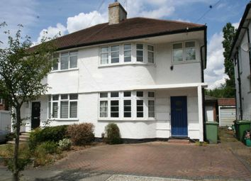 Thumbnail 3 bedroom semi-detached house to rent in Fieldway, Petts Wood, Orpington