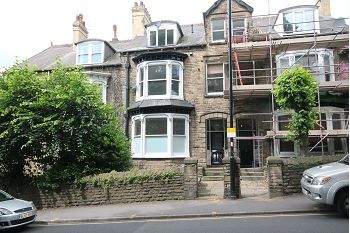 Thumbnail 1 bed flat to rent in Flat 2, 48 Brocco Bank, Sheffield