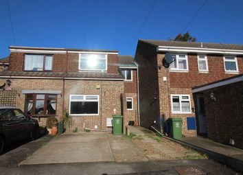 Thumbnail 4 bed terraced house to rent in Farmlea Road, Cosham, Portsmouth