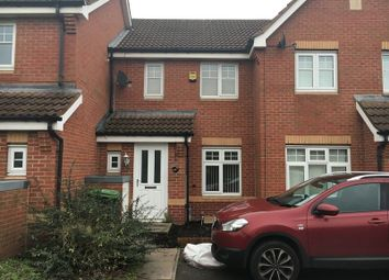 Thumbnail 2 bed terraced house to rent in Elderberry Close, Walsall